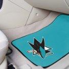 NHL-San Jose Sharks 2 pc Carpeted Floor mats
