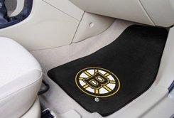 NHL-Boston Bruins 2 pc Carpeted Floor mats