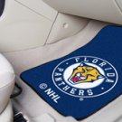 NHL- Florida Panthers 2 pc Carpeted Floor mats