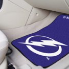 NHL- Tampa Bay Lightning 2 pc Carpeted Floor mats