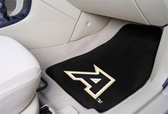 US Military Academy Army Black Knights 2 pc Carpeted Floor mats