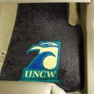 University of North Carolina Wilmington 2 pc Carpeted Floor mats