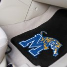 University of Memphis 2 pc Carpeted Floor mats