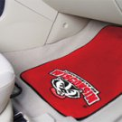 University of Wisconsin Badger Logo 2 pc Carpeted Floor mats