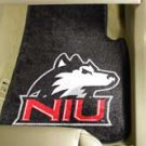 Northern Illinois University NIU 2 pc Carpeted Floor mats
