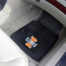 University of Illinois 2 pc Heavy Duty Vinyl Floor mats