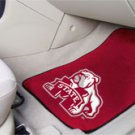 Mississippi State University 2 pc Carpeted Floor mats