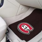 St. Cloud State University 2 pc Carpeted Floor mats