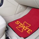 Iowa Sate University  2 pc Carpeted Floor mats