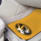University of Missouri 2 pc Carpeted Floor mats