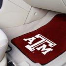 Texas A&M University  2 pc Carpeted Floor mats