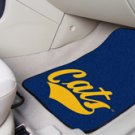 Montana State University Cats 2 pc Carpeted Floor mats