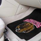 University of Montana-Montana Grizzlies 2 pc Carpeted Floor mats