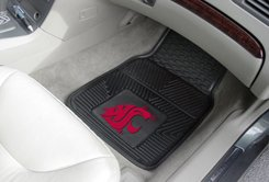 Washington State University 2 pc Heavy Duty Vinyl Floor mats