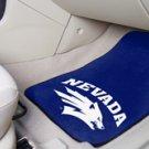 University of Nevada  2 pc Carpeted Floor mats