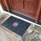 """MLB -Chicago Cubs Door Mat Heavy Duty Vinyl 18""""x30"""""""