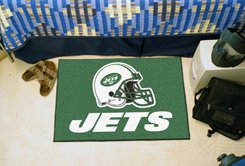 "NFL -New York Jets 19""x30"" carpeted bed mat"