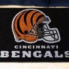 """NFL -Cincinnati Bengals 19""""x30"""" carpeted bed mat"""