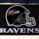 "NFL -Baltimore Ravens 19""x30"" carpeted bed mat"
