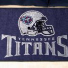 """NFL -Tennessee Titans 19""""x30"""" carpeted bed mat"""