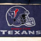 """NFL -Houston Texans 19""""x30"""" carpeted bed mat"""