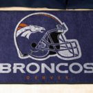 "NFL -Denver Broncos 19""x30"" carpeted bed mat"