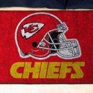 """NFL -Kansas City Chiefs 19""""x30"""" carpeted bed mat"""