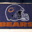 """NFL -Chicago Bears 19""""x30"""" carpeted bed mat"""
