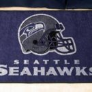 """NFL -Seattle Seahawks 19""""x30"""" carpeted bed mat"""