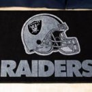 """NFL -Oakland Raiders 19""""x30"""" carpeted bed mat"""
