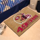 """NFL -San Francisco 49ers 19""""x30"""" carpeted bed mat"""