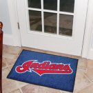 """MLB-Cleveland Indians 19""""x30"""" carpeted bed mat"""
