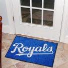 """MLB-Kansas City Royals 19""""x30"""" carpeted bed mat"""