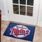 "MLB-Minnesota Twins 19""x30"" carpeted bed mat"