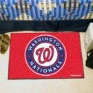 """MLB-Washington Nationals 19""""x30"""" carpeted bed mat"""