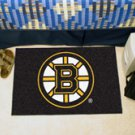 """NHL-Boston Bruins 19""""x30"""" carpeted bed mat"""