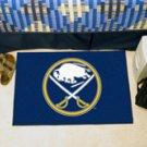 "NHL-Buffalo Sabres 19""x30"" carpeted bed mat"