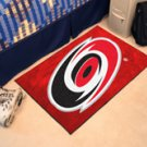 "NHL-Carolina Hurricanes 19""x30"" carpeted bed mat"