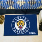 """NHL-Florida Panthers 19""""x30"""" carpeted bed mat"""