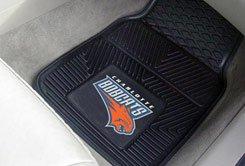 NBA-Charlotte Bobcats 2 pc Heavy Duty Vinyl Floor mats Front