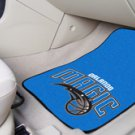 NBA- Orlando Magic 2 pc Carpeted Floor mats Front