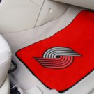 NBA- Portland Trail Blazers 2 pc Carpeted Floor mats Front