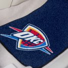 NBA- Oklahoma City Thunder 2 pc Carpeted Floor mats Front