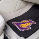 NBA- Los Angeles Lakers 2 pc Carpeted Floor mats Front