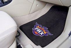 NBA- Phoenix Suns 2 pc Carpeted Floor mats Front