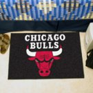 """NBA-Chicago Bulls 19""""x30"""" carpeted bed mat"""