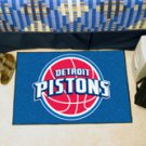 "NBA-Detroit Pistons 19""x30"" carpeted bed mat"