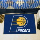 """NBA-Indiana Pacers 19""""x30"""" carpeted bed mat"""