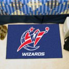 "NBA-Washington Wizards 19""x30"" carpeted bed mat"