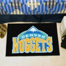"NBA-Denver Nuggets 19""x30"" carpeted bed mat"